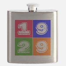1929 Birthday Designs Flask