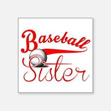 Baseball Sister Sticker