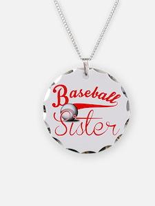 Baseball Sister Necklace