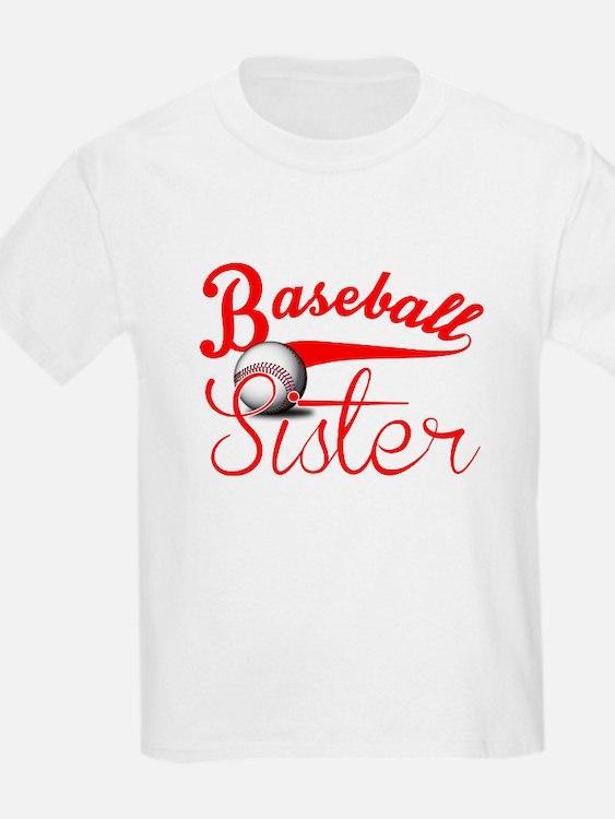 baseball sister t shirts shirts tees custom baseball. Black Bedroom Furniture Sets. Home Design Ideas