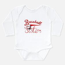 Baseball Sister Body Suit
