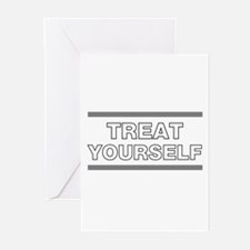 Treat Yourself Greeting Cards