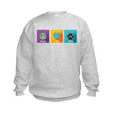 Peace, Love, Paws Sweatshirt