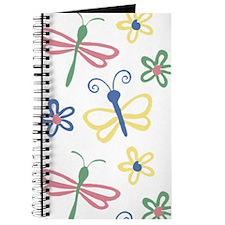 Winged Pastel - Dragonfly Sketchbook or Journal