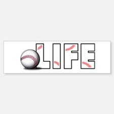 Baseball Life Bumper Bumper Bumper Sticker