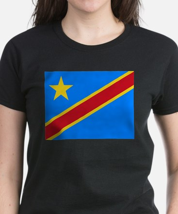 DOMINICAN REPUBLIC OF THE CONGO FLAG T-Shirt