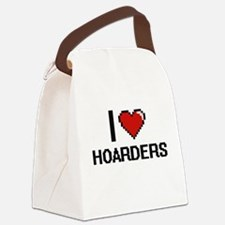 I love Hoarders Canvas Lunch Bag