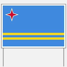 ARUBA FLAG Yard Sign