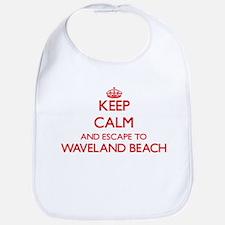 Keep calm and escape to Waveland Beach Mississ Bib
