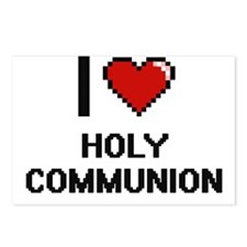I love Holy Communion Postcards (Package of 8)