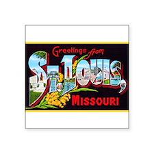 """Unique Missouri Square Sticker 3"""" x 3"""""""