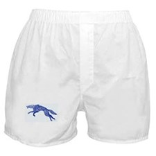 Blue Wolf Boxer Shorts