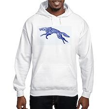 Blue Wolf Hoodie