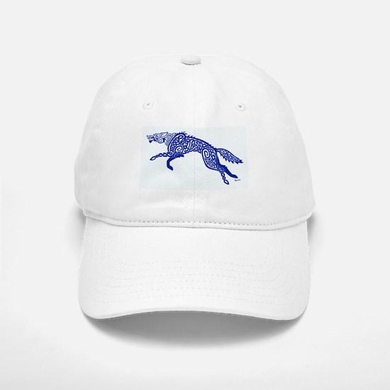 Blue Wolf Baseball Baseball Cap