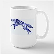 Blue Wolf Mugs