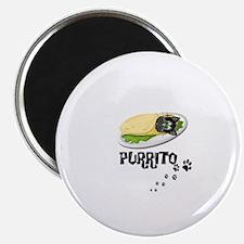 PURRITO, BURRITO, CAT Magnet