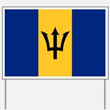 barbados Yard Sign