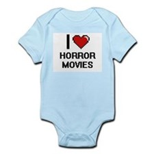 I love Horror Movies Body Suit