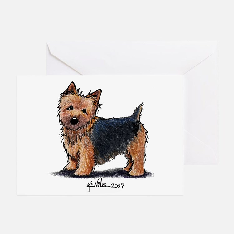 Black Jacket NT Greeting Cards (Pk of 20)