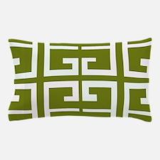 Avocado Green Spanish Tile Pillow Case