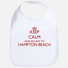 Keep calm and escape to Hampton Beach New Hamp Bib