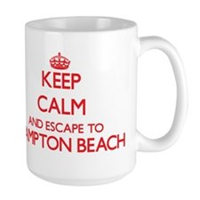 Keep calm and escape to Hampton Beach New Ham Mugs