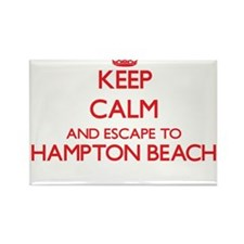 Keep calm and escape to Hampton Beach New Magnets