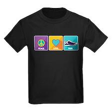 Peace, Love, Run T-Shirt