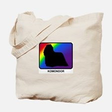 Komondor (rainbow) Tote Bag