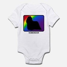 Komondor (rainbow) Infant Bodysuit