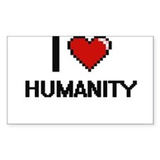 I love Humanity Decal