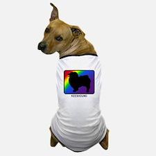 Keeshound (rainbow) Dog T-Shirt