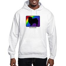 Keeshound (rainbow) Hoodie