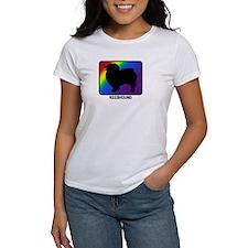 Keeshound (rainbow) Tee