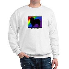 Keeshound (rainbow) Sweatshirt