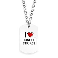 I love Hunger Strikes Dog Tags