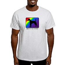 Smooth Fox Terrier (rainbow) T-Shirt