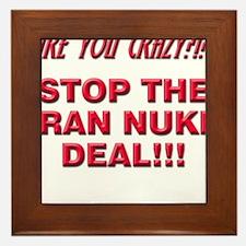 Nuke Deal Framed Tile