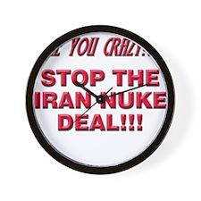 Nuke Deal Wall Clock
