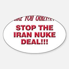 Nuke Deal Sticker (Oval)