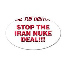 Nuke Deal 20x12 Oval Wall Decal