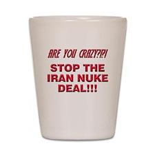 Nuke Deal Shot Glass