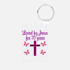 CHRISTIAN 70TH Keychains