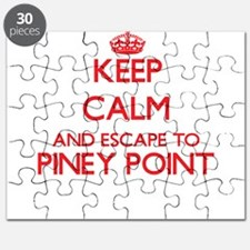Keep calm and escape to Piney Point Massach Puzzle