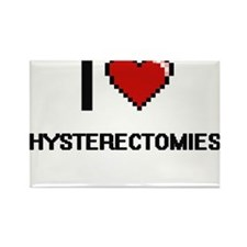 I love Hysterectomies Magnets