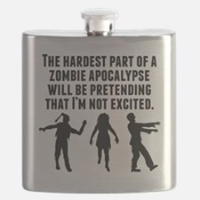 The Hardest Part Of A Zombie Apocalypse Flask