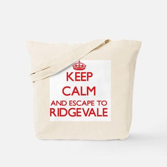 Keep calm and escape to Ridgevale Massach Tote Bag
