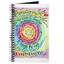 Beauty in Life Cancer Support Poem Journal