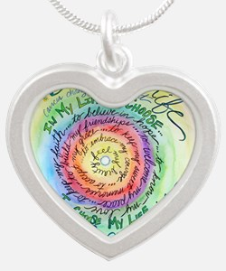 Beauty in Life Cancer Support Poem Necklaces
