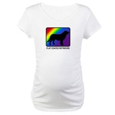 Flat Coated Retriever (rainbo Shirt